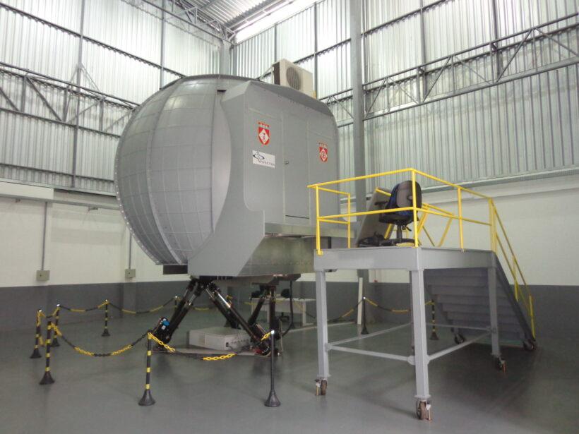Simulador de Helicóptero Esquilo